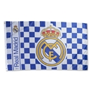 Real Madrid 5' x 3' Checked Flag