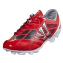 Warrior Gambler II Clash FG (Velocity Red/Ignite/Caviar/Metallic Silver)