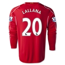 Liverpool 14/15 LALLANA LS Home Soccer Jersey