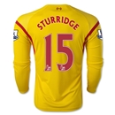 Liverpool 14/15 STURRIDGE LS Away Soccer Jersey