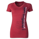 New England Revolution Women's Decision V-Neck T-Shirt