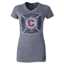 Chicago Fire Originals Women's Fan V-Neck T-Shirt