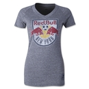 New York Red Bulls Originals Women's Fan V-Neck T-Shirt