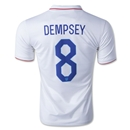 USA 2014 DEMPSEY Home Soccer Jersey