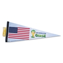 2014 FIFA World Cup Brazil(TM) USA Premium Pennant 12 x 30