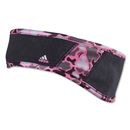 adidas Women's Aria Headband (Black/Pink)
