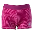 adidas TechFit 3 Boy Short-Energy Print (Pink)