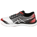 Asics Gel-Lyte 33 3 Running Shoe (White/Black/Red)