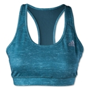 adidas TechFit Bra-Heathered Pattern (Green)