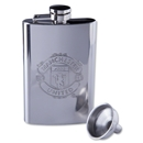 Manchester United Flask and Funnel 4 oz.