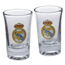 Real Madrid 2 Pack Shot Glasses