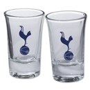 Tottenham 2 Pack Shot Glasses