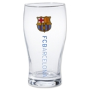 Barcelona Woodmark Pint Glass