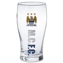 Manchester City Woodmark Pint Glass