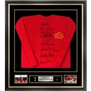 England 1966 Team, Signed by 10 and Framed England Jersey