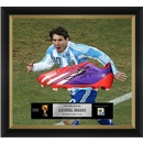 Leo Messi Signed and Framed Argentina Cleat
