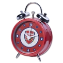Arsenal Bullseye Mini Bell Alarm Clock