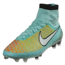 Nike Magista Obra FG (Hyper Turquoise/White/Laser Orange)