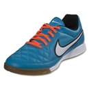Nike Tiempo Genio Leather IC (Neo Turquoise/White)