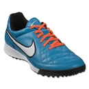 Nike Tiempo Genio Leather TF (Neo Turquoise/White)