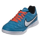 Nike Tiempo Genio Leather IC Junior (Neo Turquoise/White)
