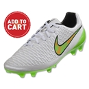 Nike Magista Opus FG (White/Green)