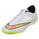 Nike Mercurial Victory V IC (White/Volt/Hyper Pink)