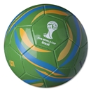 2014 FIFA World Cup Brazil Copacabana Ball (Green)