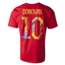 USA Donovan T-Shirt (Red)