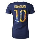 USA Donovan Women's T-Shirt (Navy)