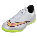 Nike Junior Mercurial Victory V IC (White/Volt/Hyper Pink)
