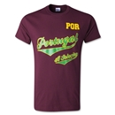 Portugal Banner T- Shirt (Maroon)