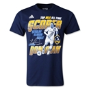 LA Galaxy Landon Donovan All Time Leading Scorer T-Shirt