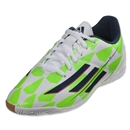 adidas F5 IN Junior (Core White/Rich Blue/Solar Green)