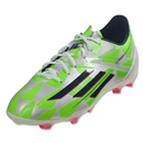 adidas F50 adizero FG Junior (Running White/Rich Blue/Neon Green)