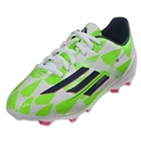 adidas F10 FG Junior (Running White/Rich Blue/Neon Green)