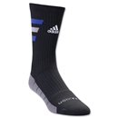 adidas Team Speed Traxion Crew Sock (Blk/Royal)