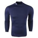 Under Armour Evo ColdGear Compression Mock (Navy)