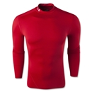 Under Armour Evo ColdGear Compression Mock (Red)
