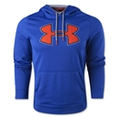 Under Armour Fleece Storm Outline Big Logo Hoody (Royal)