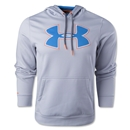 Under Armour Fleece Storm Outline Big Logo Hoody (Gray)
