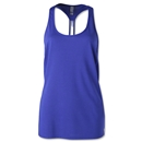 Under Armour Fly-By Stretch Mesh Tank (Iris)