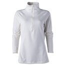 Under Amour ColdGear Women's Cozy 1/2 Zip Fleece (White)