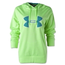 Under Armour Big Logo Applique Hoody (Lime)