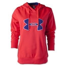 Under Armour Big Logo Applique Hoody (Magenta)