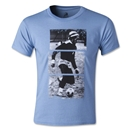 Zion Rootswear Bob Marley Youth Soccer 77 T-Shirt (Blue)
