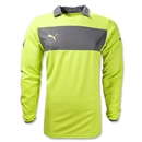 PUMA Powercat 1.12 Long Sleeve Goalkeeper Jersey (Lime)