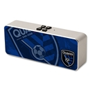 San Jose Earthquakes Bluetooth Speaker (Corner Logo)