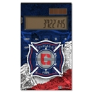 Chicago Fire Desktop Calculator (Center Logo)