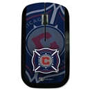Chicago Fire Wireless Mouse (Corner Logo)